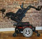 QUANTUM 600 POWER CHAIR WITH POWER SEAT TILT AND BRAND NEW BATTERIES 300 LB