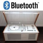 Restored BRAUN SK5 Phonosuper Tube Radio Record Player RAMS Turntable Bluetooth