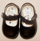 Circo Baby Girl Black Patent Mary Jane Flower Bows Easter Dress Shoes Size 2