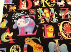 Fabric Alphabet Soup Animals 6090 sold by the yard