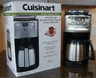 CUISINART Grind and Brew Thermal 12 Cup Automatic Coffee Maker DGB 900BC