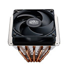 New Cooler Master Version 2 CPU Air 5 Direct Contact Heat Pipes Cooling Fans Kit