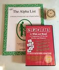 Spell To Write and Read Companion Cd Alpha List set Brand New