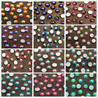 Half Round Two color Bead Flat Back Pearl Scrapbooking Embellishment 3 4 5 6 8mm