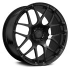 20 AVANT GARDE M610 MATTE BLACK WHEELS FOR LEXUS GS350 GS450h GS460