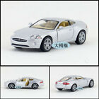 JAGUAR 1:38 Model Cars Toys Alloy Diecast Open two doors Gifts&Collection Silver
