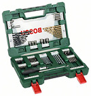 Bosch Drill and Screwdriver Bit Set with Ratchet Screwdriver and Magnetic Stick,