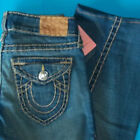 27 x 33 PRE Owned TRUE RELIGION 319 VINTAGE JOEY SUPER T Twist Flare JEANS