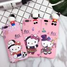Slim Cute Hello Kitty Soft Rubber Case Back Cover For iPhone 5 5S 6 6S 7 Plus