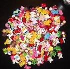 Huge Mixed Lot of 30 Flatback Resins Great for DIY Hair Bow Scrapbooking Crafts