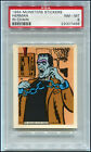 1964 MUNSTERS STICKERS HERMAN IN CHAIN PSA 8