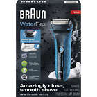Braun WaterFlex WF2s WetDry Electric Shaver for Men Rechargeable Razor NEW