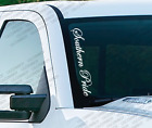 Southern Pride - Windshield Vinyl Vertical Decal Sticker Jeep Wrangler Ram Ps22