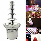 Tek Motion 27' 5-Tier Stainless Steel Chocolate Fondue Fountain LARGE for Big...