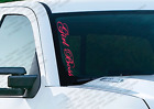 Girl Boss - Windshield Vinyl Vertical Decal Sticker Jeep Wrangler Power Ps22