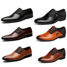 Mens Multi color Formal Pointy Toe Oxfords Leather Business Shoes US Size 6 12