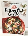 Weight Watchers Eating Out Guide Dining Points Restaurant Menu Master Book