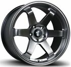 Avid1 AV06 17x8 +35 17x9 +42 5x1143 Hyper Black Toyota MR2 SW20 Staggered
