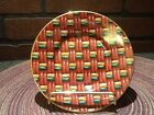 Vintage Fitz and Floyd Fine Porcelain - Saucer - Basketry #416