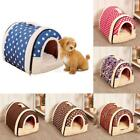 Small Pet Dog Soft Bed House Puppy Washable Kennel Mat Pad Puppy Cat Cushion US