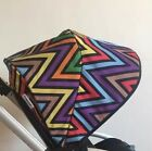 MISSONI Zig Zag Limited Edition Sun Canopy for Bugaboo Bee Plus