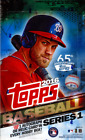 2016 Topps Series 1 Baseball Hobby Box - Factory Sealed!