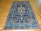 4x6, 5x7  RARE Persian Lavar Kerman Oriental Area Rug Tree Life design Antique