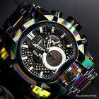 Invicta Reserve Bolt Zeus Magnum Swiss Iridescent Steel Dual Dials Watch New