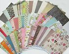 Last One 49 SHEETS of BASIC GREY SCRAPBOOK PAPER Save 60