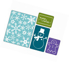 Sizzix Textured Impressions Embossing Folders 4PK Christmas Set 3 by Rachael
