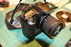 Like new Canon EOS 30D 82MP DSLR Camera battery grip NEW EF S IS 18 55 lens