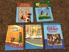 ABeka Primary Bible Reader and 2nd grade readers lot of 4 GUC