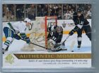 2015-16 SP AUTHENTIC BUYBACK AUTHENTIC MOMENTS AUTO JONATHAN QUICK #163 RARE