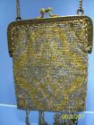 VINTAGE BEADED EVENING PURSE MADE IN FRANCE 1920'S ???
