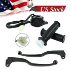 Fit Yamaha PW80 PY80 Throttle Housing Switch Brake Levers Grips Set Dirt Bike US