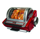 Oven Roasted Chicken Digital Timer Rotisserie BBQ Turkey Removable Drip Tray NEW