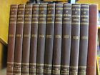 The Book of Knowledge Annual Grolier Society 1948 1950 59 11 Volumes Set Leather