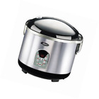 Oster 3071 Smart Digital 10-Cup uncooked resulting in 20-Cup cooked Rice Cooker,