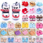 Winter Warm Newborn Kids Baby Boy Girl Infant Fleece Soft Sole Boots Crib Shoes