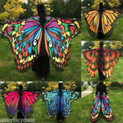 Adult Girl Soft Fabric Butterfly Wings Fairy Ladies Nymph Pixie Costume Accessor
