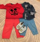 VGUC GUC Baby Boy Gap Robeez Loved baby Lot Size 6 12 Months