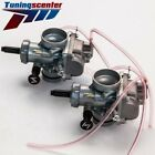Two Carburetors Fit Yamaha Banshee YFZ350 YFZ 350 1987 2006 ATV Carbs 29mm 1995