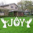 Large Christmas Outdoor Nativity Scene JOY Yard Nativity Set
