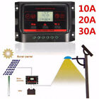 10 20 30A PWM LCD Dual USB 5V Solar Panel Battery Regulator Charge Controller W