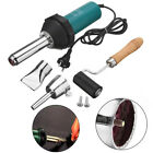 1080W Plastic Hot Air Welding Torch Welder Heat Gas Tools Kit + Nozzle Rod