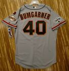 2015 Authentic Madison Bumgarner Jersey 50 San Francisco Giants
