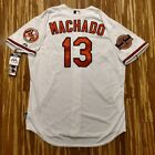 2012 Authentic Manny Machado Baltimore Orioles Jersey 52 Cool Base Home White