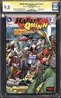 Harley Quinn Invades Comic-Con #1 CGC SS 9.8 Signed Conner & Palmiotti SDCC DC