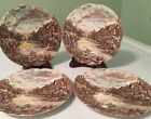 Set of 4 Johnson Brothers OLDE ENGLISH COUNTRYSIDE Bread & Butter Plates ENGLAND