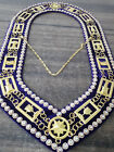 Order of Eastern Star Chain Collars OES chain collars Masonic Chain Collars